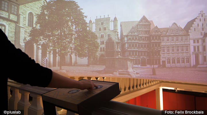 Panoramas of Hildesheim's historical city, 3D Modelling